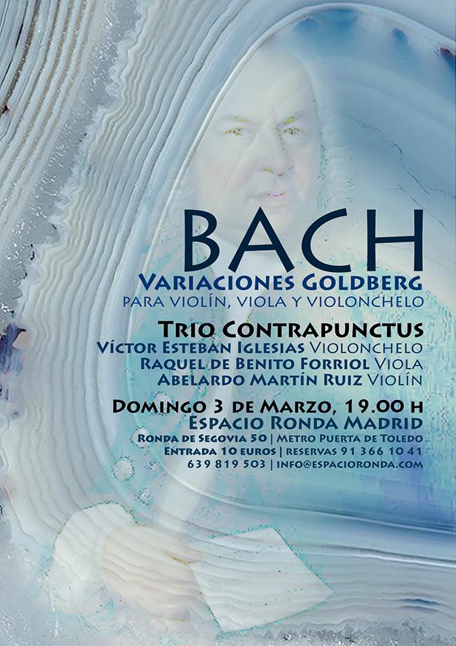 """""""BACH - Variaciones Goldberg"""" Trio Contrapunctus"""