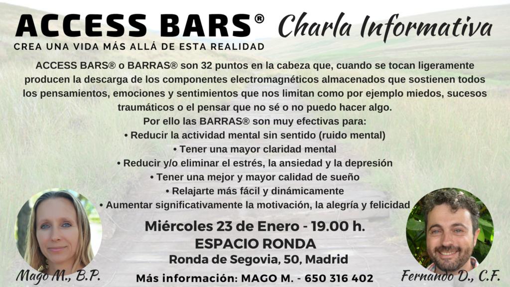 "Charla Informativa ""Access Bars®"""