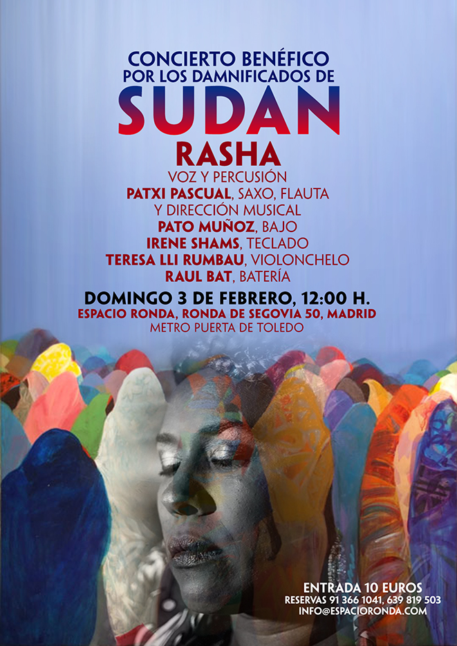 Concierto Benéfico por los Damnificados de SUDAN
