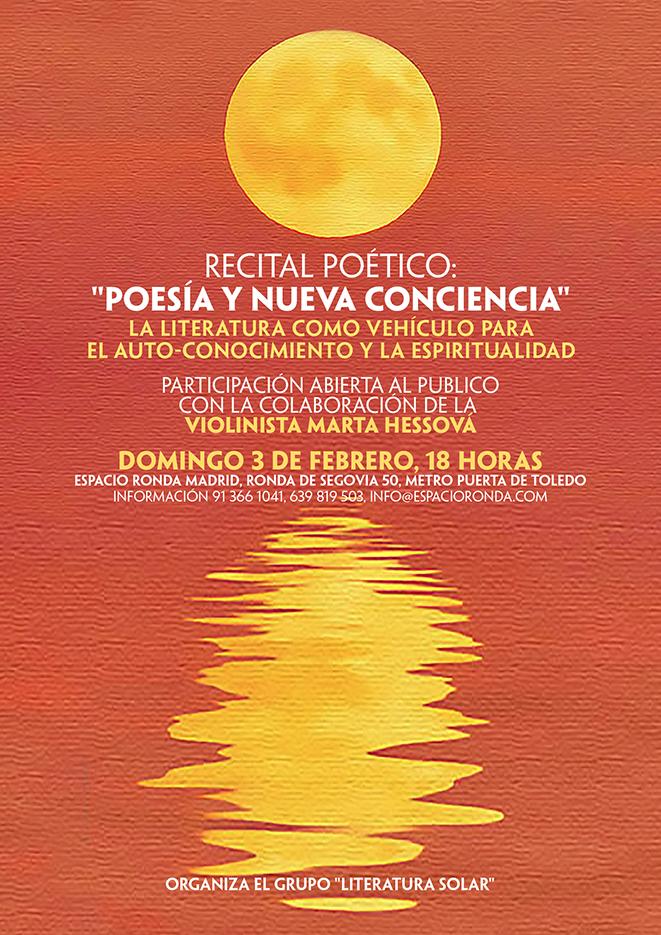 """Recital Poético """"Poseía y nueva conciencia"""""""
