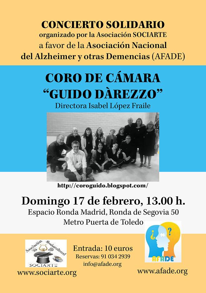 """Concierto Solidario - Coro de cámara """"Guido d'arezzo"""""""