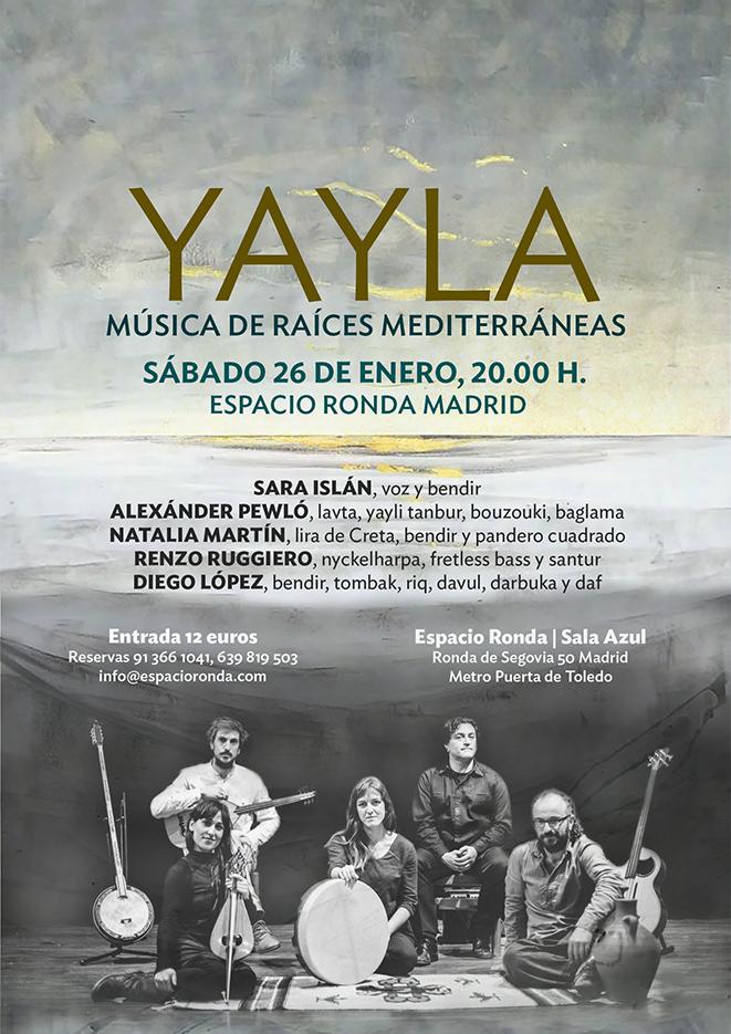 """""""YAYLA"""" Música de Raíces Mediterráneas"""