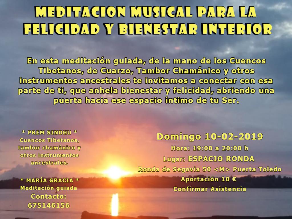 Meditación musical para la felicidad y bienestar interior