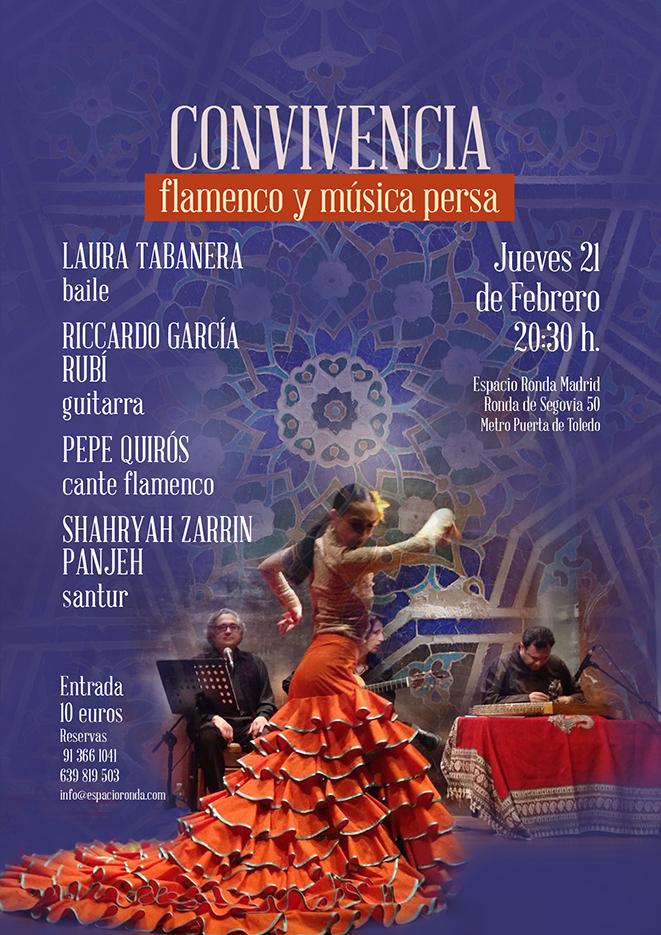 """""""Convivencia"""" flamenco y música persa"""