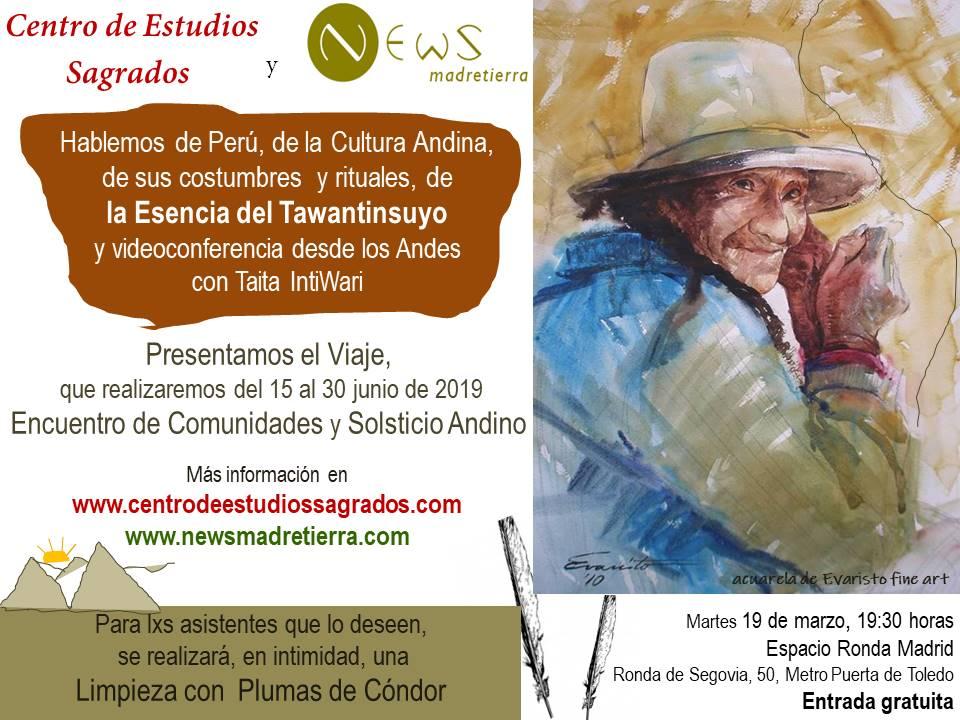 La Cultura Andina de Perú - Encuentro de Comunidades y Solsticio Andino