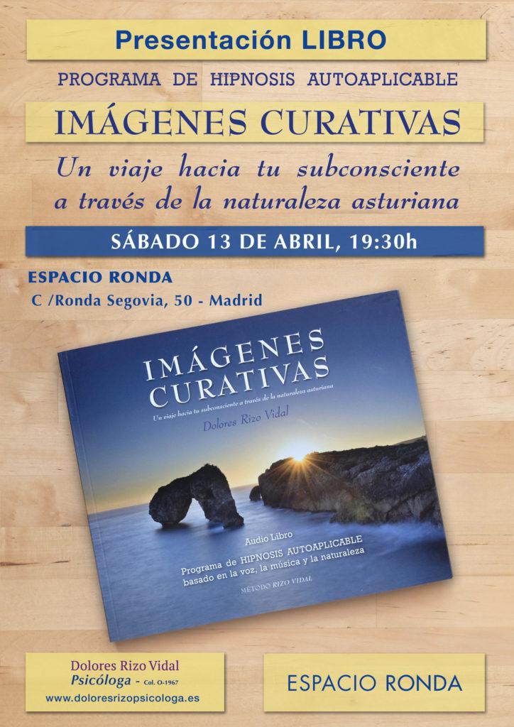 """Presentación del libro """"Imágenes Curativas"""" Programa de Hipnosis autoaplicable"""