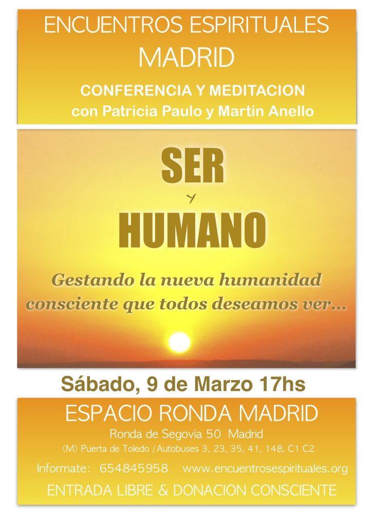 """Conferencia """"Ser y Humano"""""""