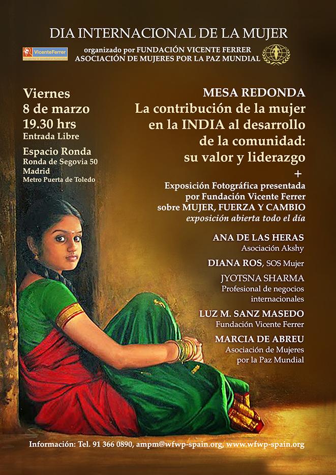 """Dia Internacional de la Mujer - Mesa Redonda """"La contribución de la Mujer en la India"""""""