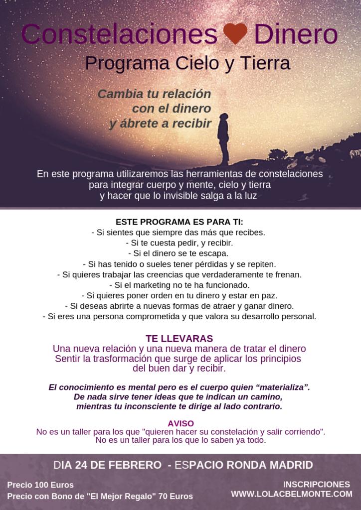 """""""Constelaciones y Dinero"""" Programa Cielo y Tierra"""
