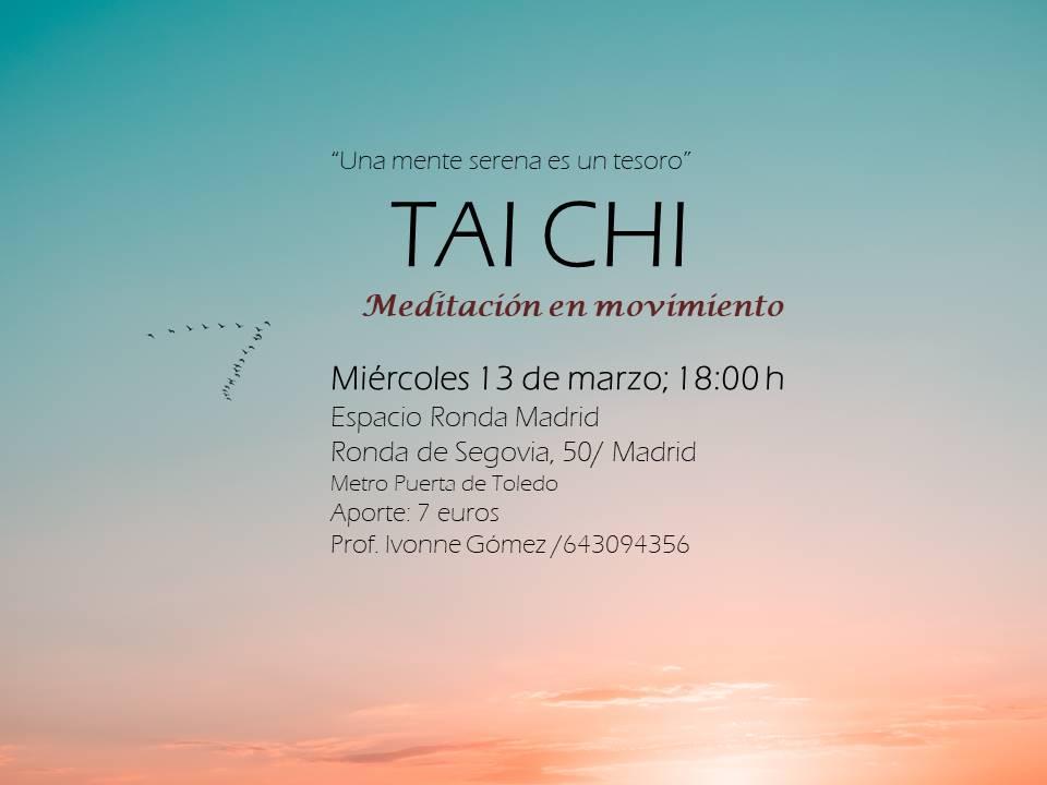 """""""Taichi"""" Meditación en movimiento"""