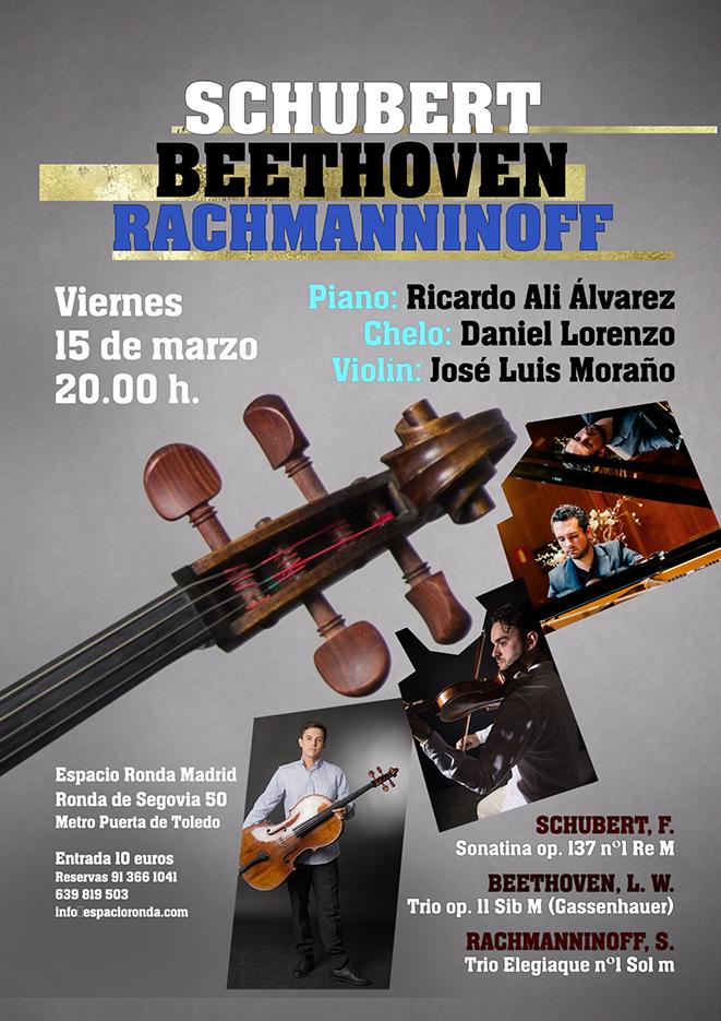Concierto de Música Clásica - Schubert, Beethoven, Rachmanninoff