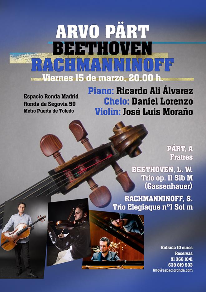 Concierto de Música Clásica - Arvo Pärt, Beethoven, Rachmanninoff