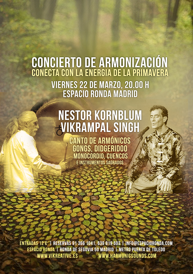 Nestor Kornblum y Vikrampal Singh en concierto