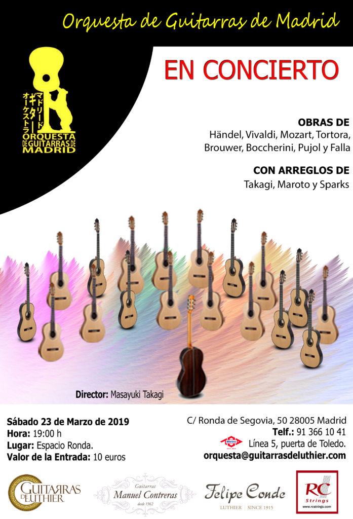 Orquesta de Guitarras de Madrid en Concierto