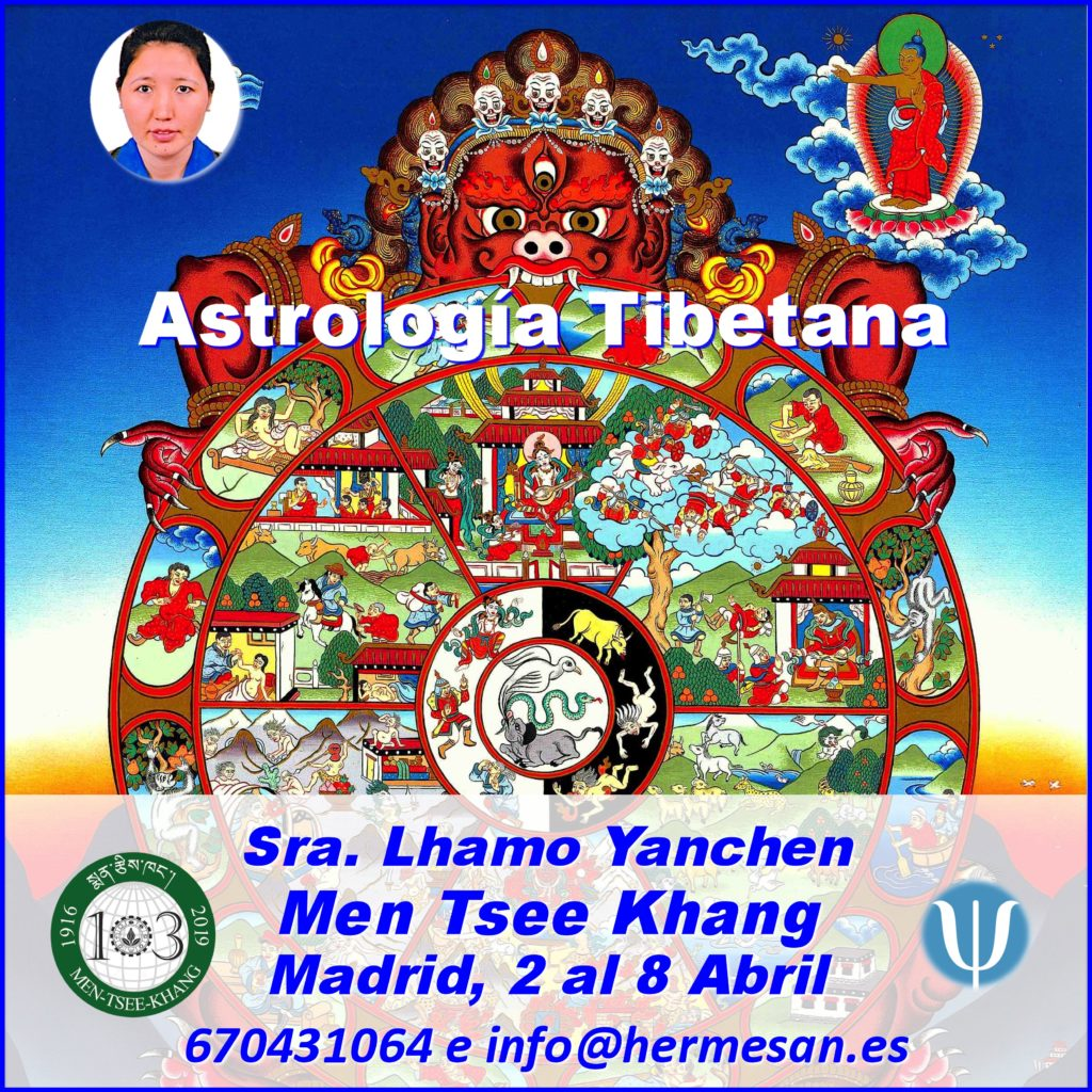 "Conferencia gratuita ""Astrologia Tibetana"" Sra. Lhamo Yangchen"