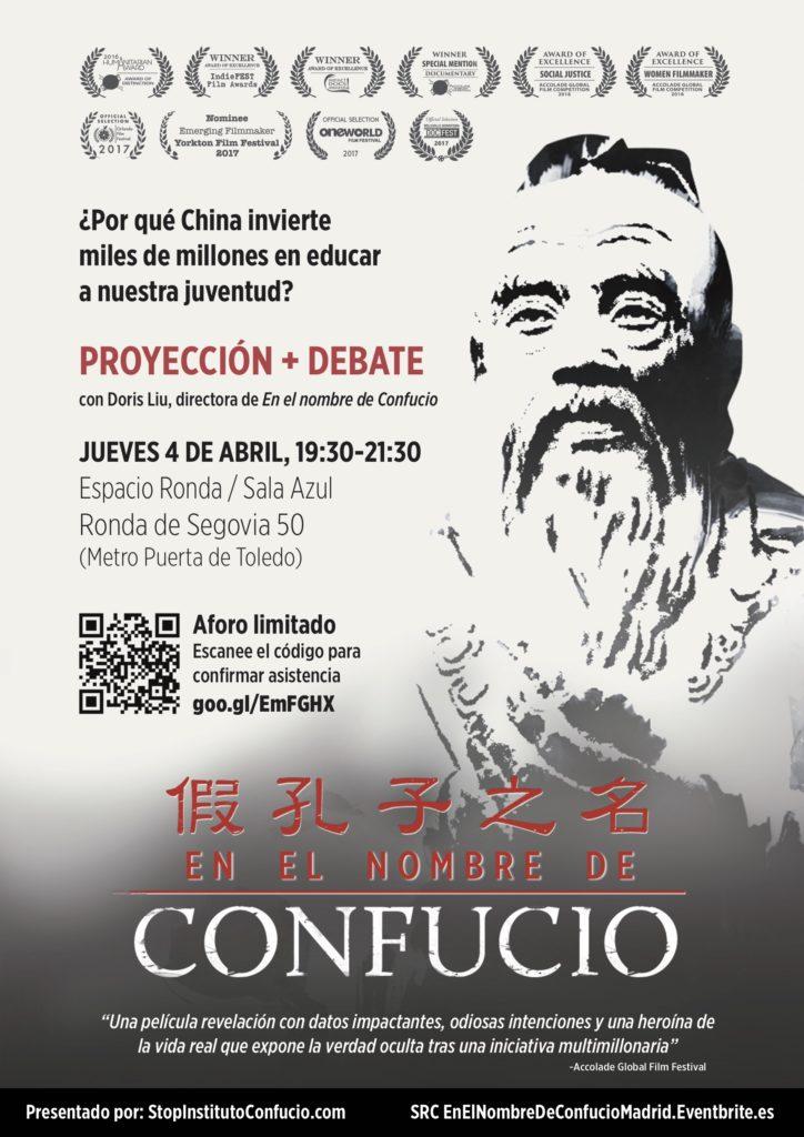 """Proyección + debate """"¿Por qué China invierte miles de millones en educar a nuestra juventud?"""""""