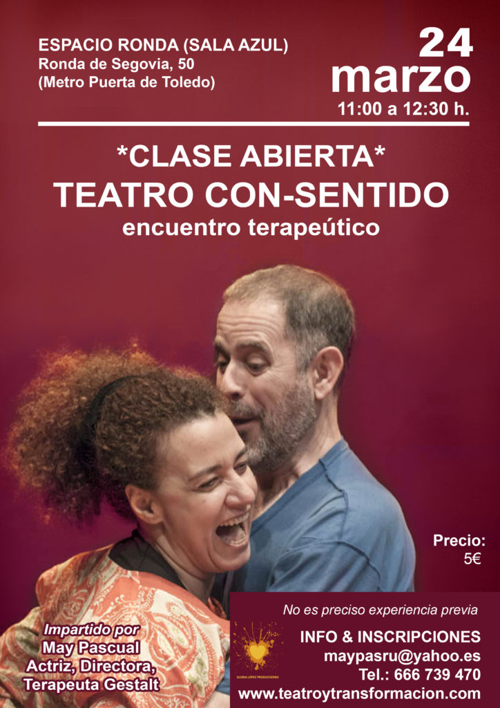 Clase abierta - Teatro con-sentido