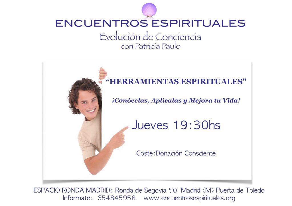 """Cursos semanales en Madrid """"Herramientas espirituales"""""""