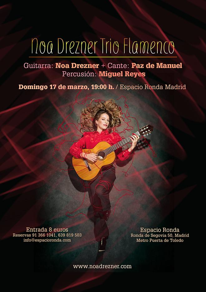 Nora Drezner - Trío Flamenco