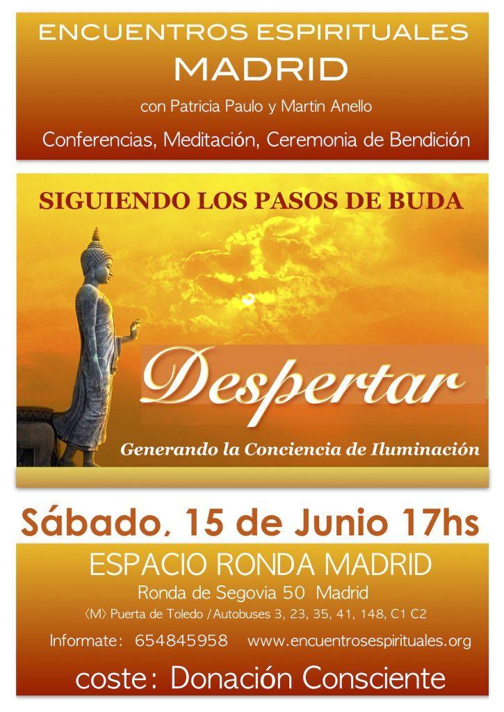 """Encuentros Espirituales con Patricia Paulo y Martin Anello - """"Despertar"""""""