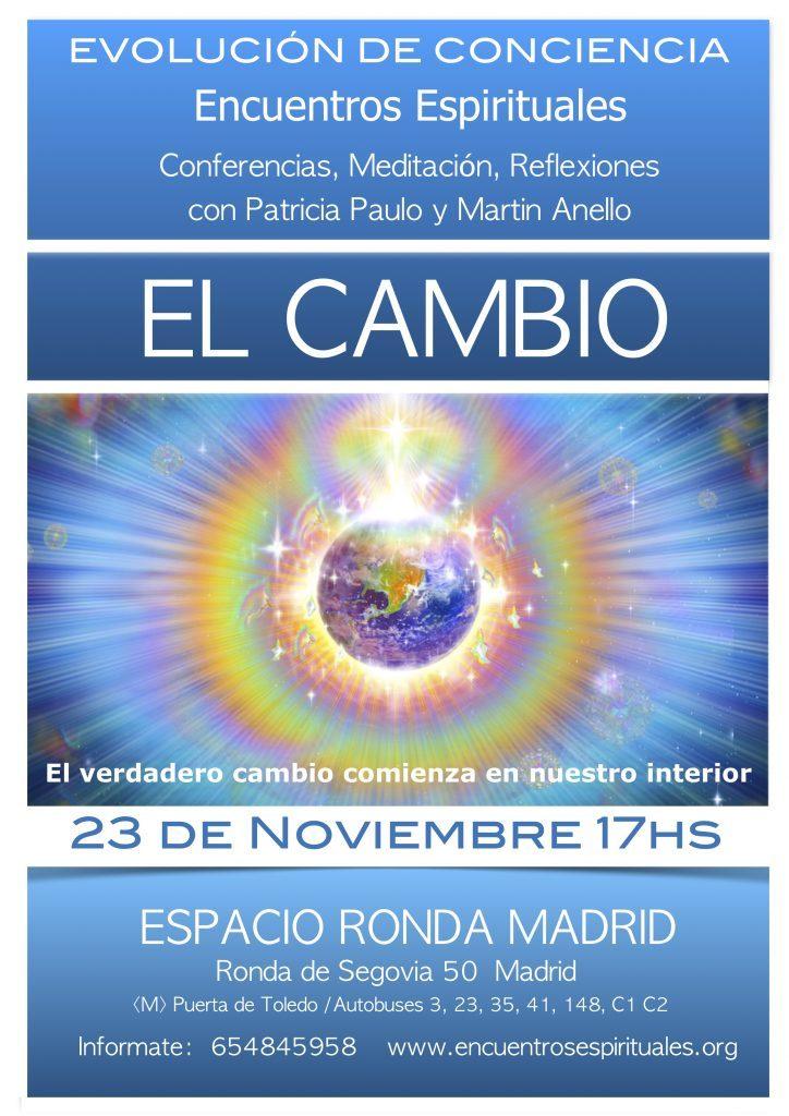 """Encuentros Espirituales con Patricia Paulo y Martin Anello - """"El Cambio"""""""