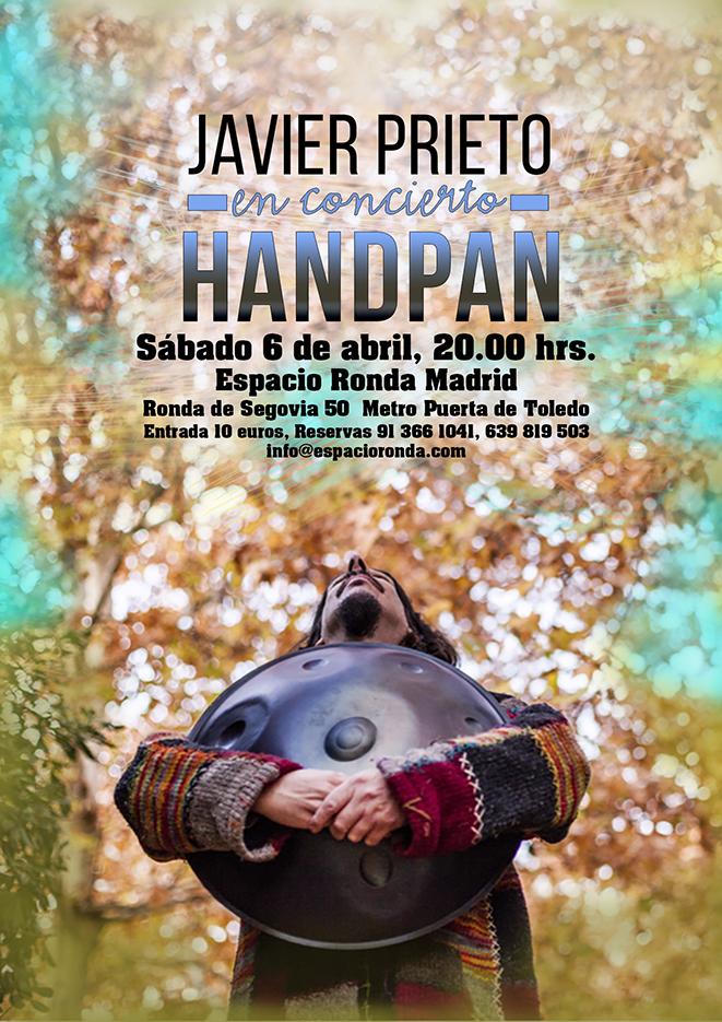 Concierto de Handpan con Javier Prieto