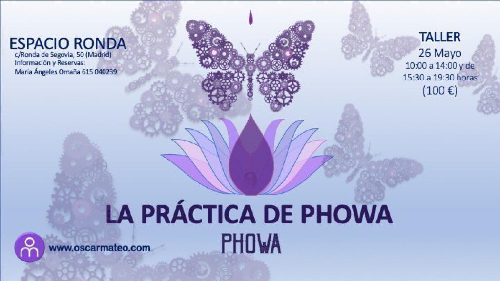 """Taller:""""La Práctica de Phowa"""""""