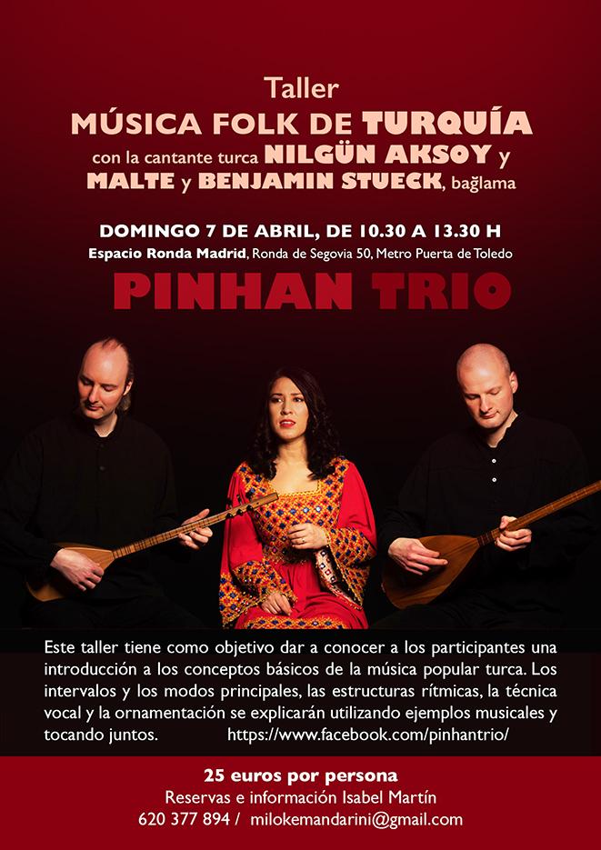 Taller Música Folk de Turquía