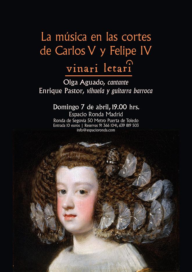 La música en las cortes de Carlos V y Felipe IV