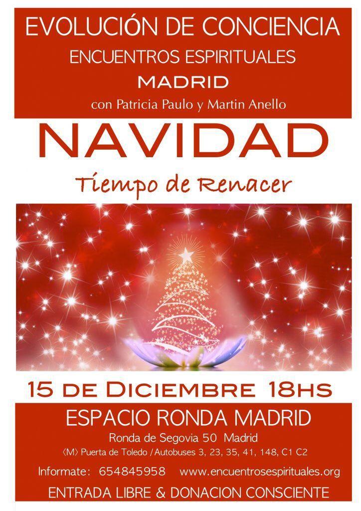 """Encuentros Espirituales con Patricia Paulo y Martin Anello - """"Navidad - Tiempo de Renacer"""""""