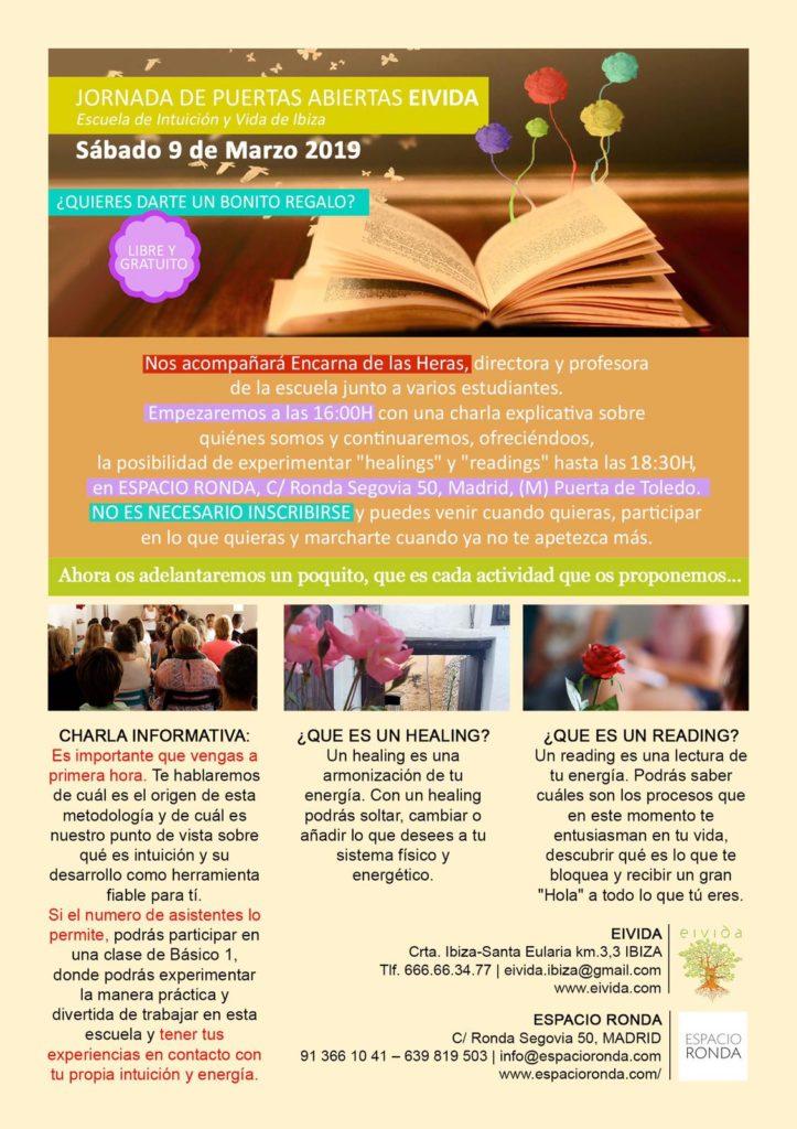 Escuela de intuición y vida - Puertas abiertas