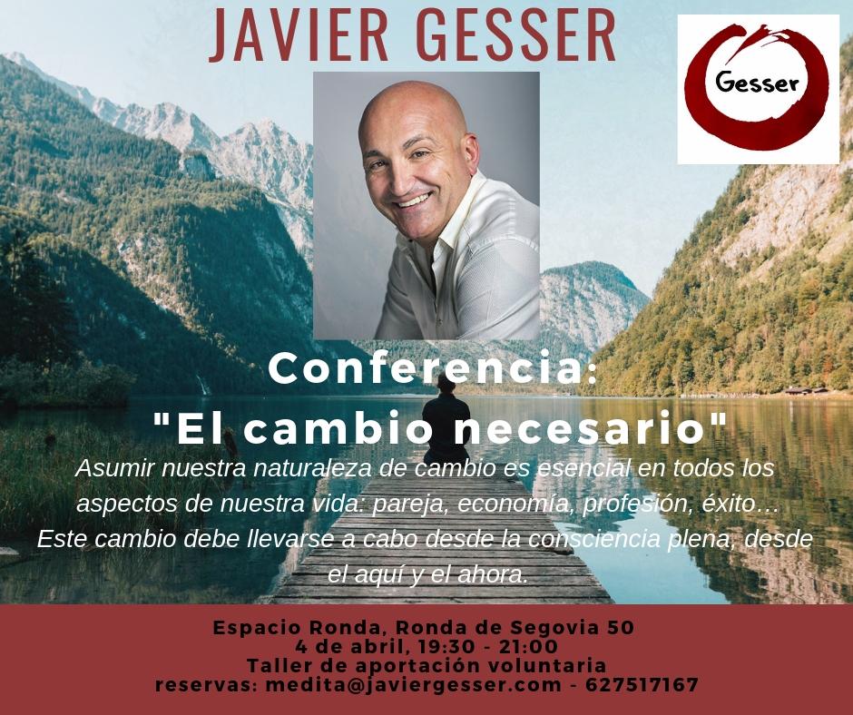 El Cambio Necesario - Javier Gesser