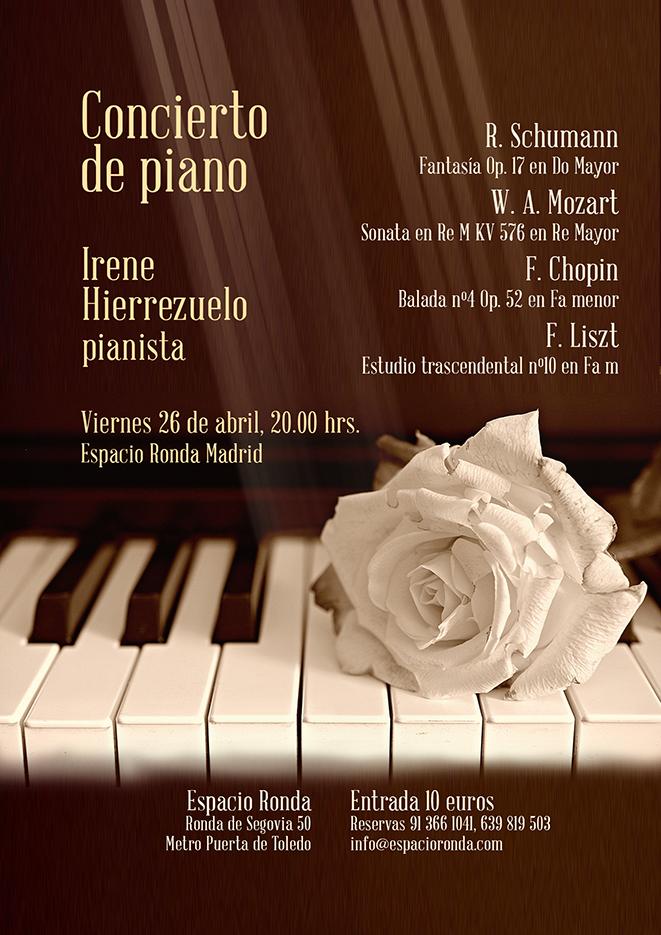 Concierto de Piano - Schumann, Mozart, Chopin y Liszt