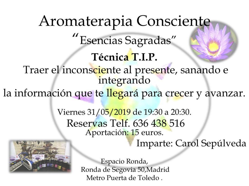 """Aromaterapia Consciente """"Esencias Sagradas"""""""
