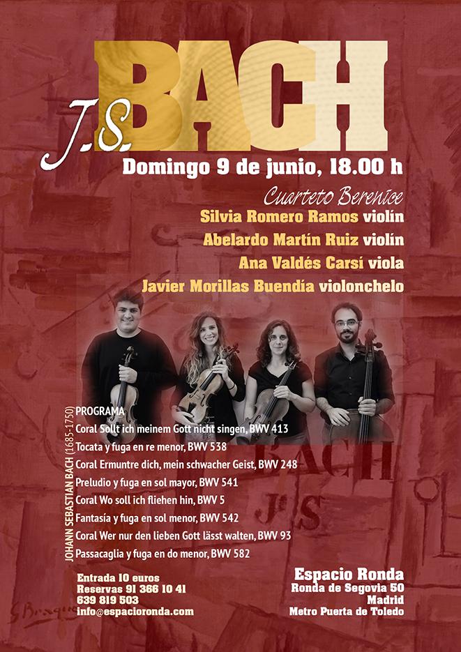Corales y Contrapuntos de J.S. Bach - Cuarteto Berenice