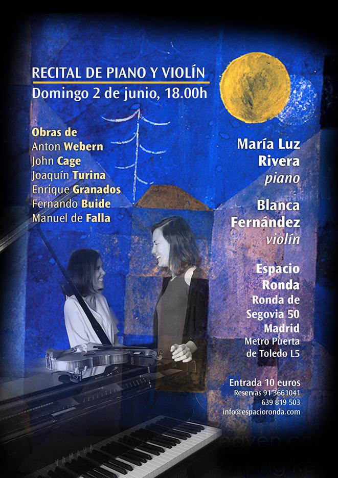 Recital de Violín y Piano - Dúo Rivera Fernández