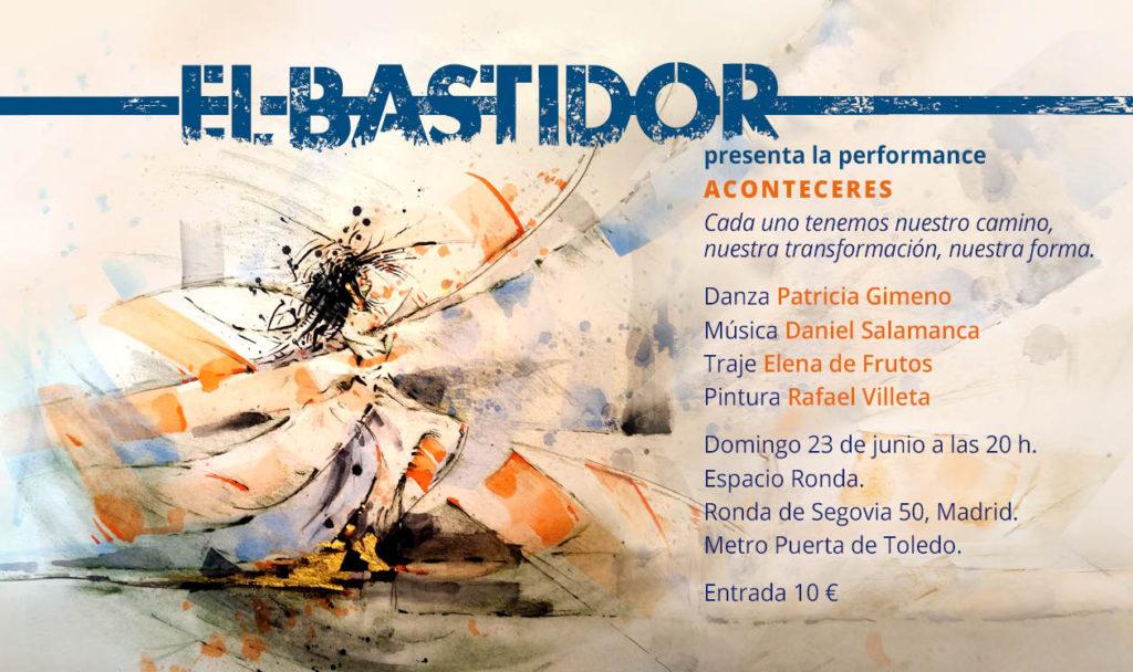 """Agrupación artística """"El Bastidor"""" presenta """"Aconteceres"""""""