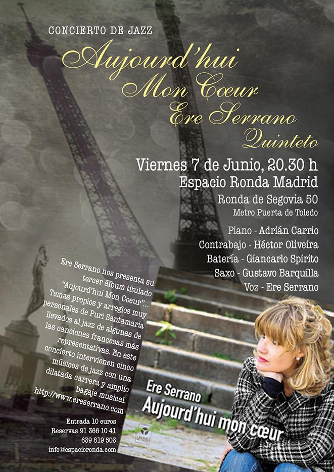 Concierto de Jazz con Ere Serrano Quinteto