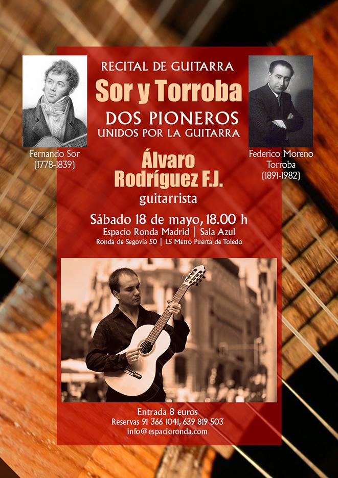 Recital de Guitarra - Sor y Torroba, dos pioneros unidos por la guitarra