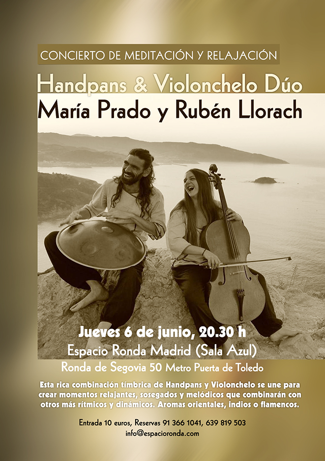 Concierto de Meditación y Relajación - Con María Prado y Rubén Llorach