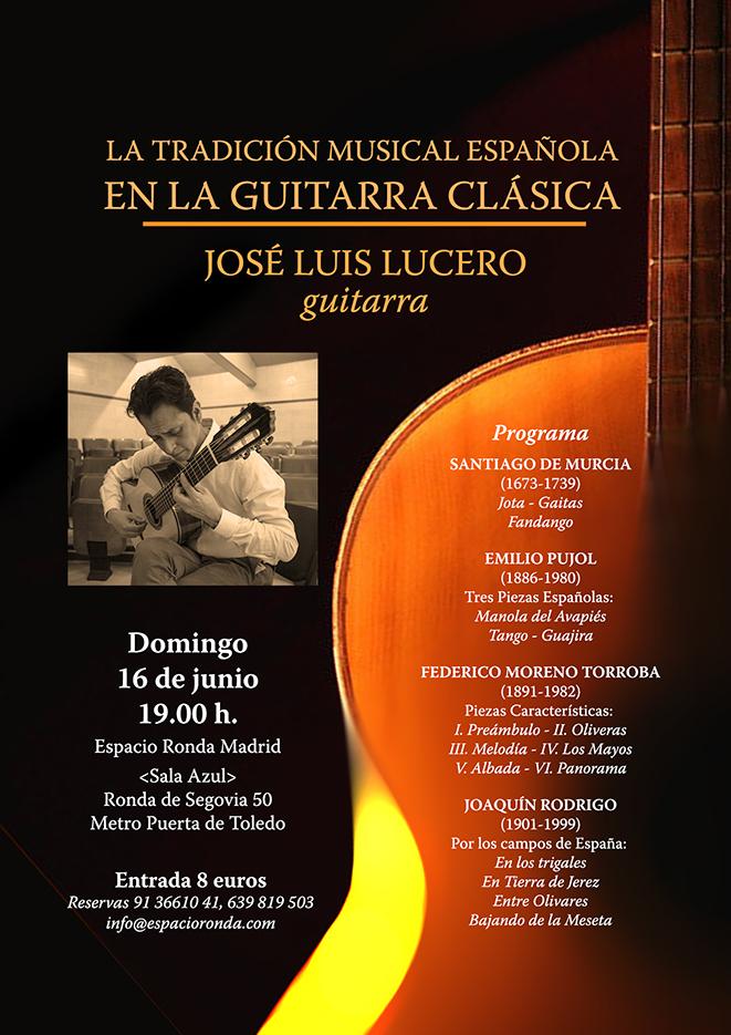 Concierto de Guitarra Española con José Luis Lucero Pérez