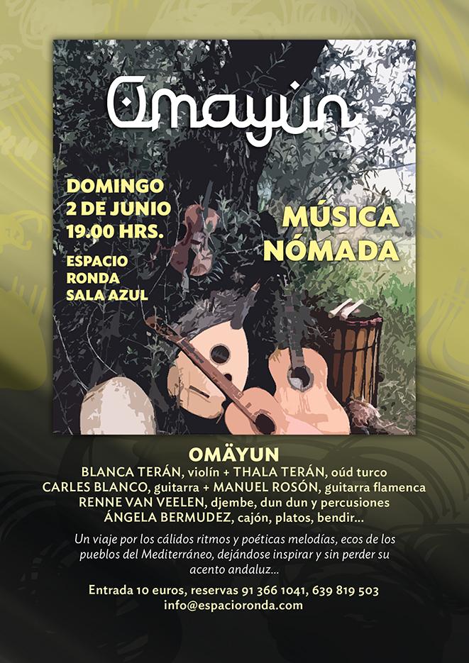 Omayun - Músicas del Mediterráneo