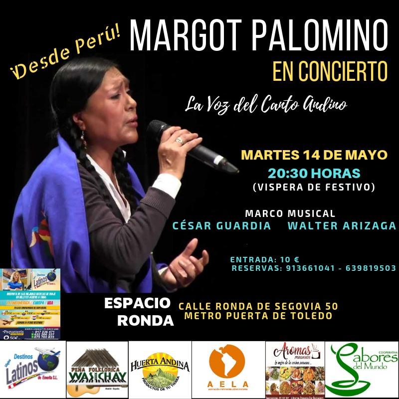 ¡Desde Perú! - Margot Palomino en concierto