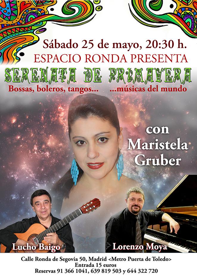 """""""Serenata de Primavera"""" Bossas, boleros, tangos… y músicas del mundo"""