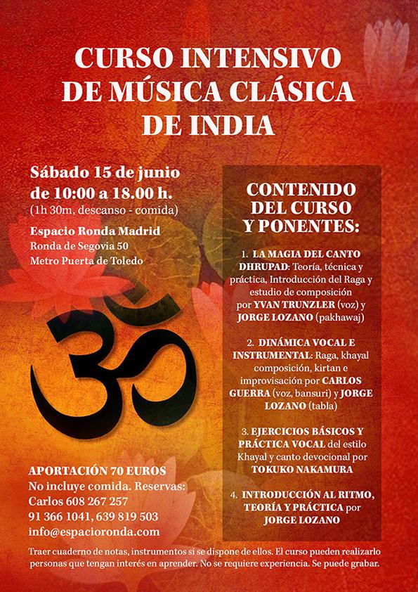 Curso Intensivo deMúsicaClásica deIndia
