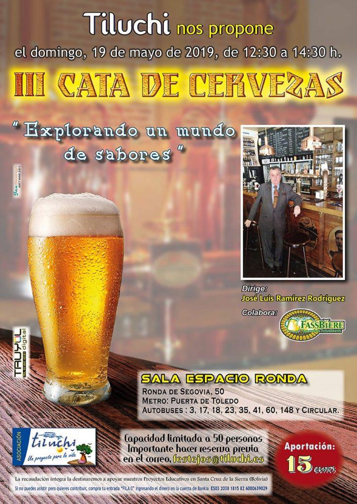 """III Cata de Cervezas """"Explorando un mundo de sabores"""""""