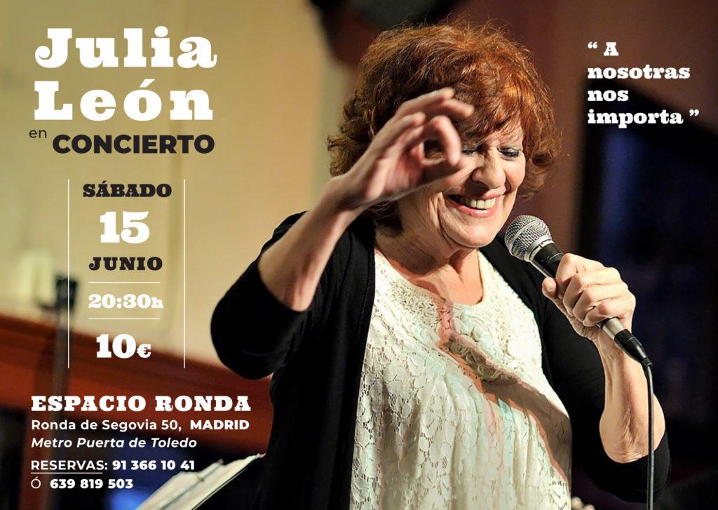 Julia León en concierto
