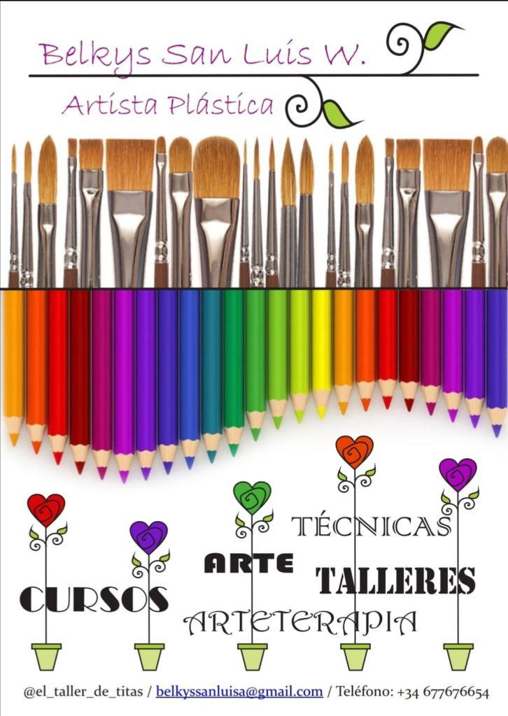Taller básico para todas las edades de pintura en acrílico