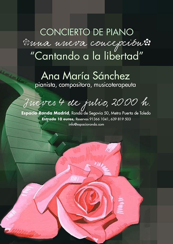 """Concierto de piano """"Cantando a la Libertad"""""""