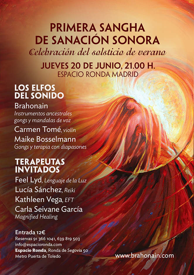 Concierto de Sanación Sonora - Los Elfos del Sonido y Terapeutas Invitados